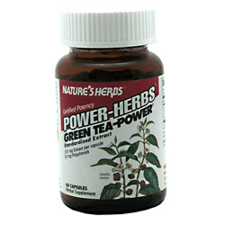 Nature's Herbs Power-Herbs Green Tea-Power