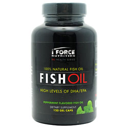 iForce Nutrition Fish Oil Peppermint