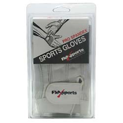 Flexsports International Pro Spandex Sports Gloves White