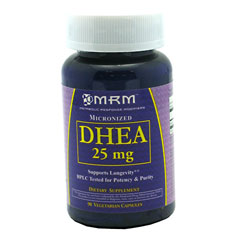 MRM Micronized DHEA 25mg