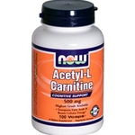 NOW Acetyl L-Carnitine 500mg Capsules
