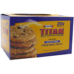 Premier Nutrition Titan High Protein Cookie
