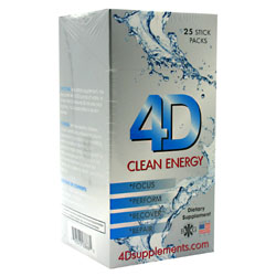 4D Supplements 4D Clean Energy