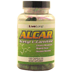 Live Long Nutrition Alcar Acetyl L-Carnitine