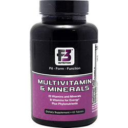 F3 Nutrition Multivitamin & Minerals