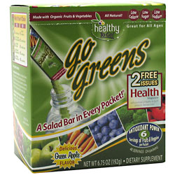 Healthy To Go! Go Greens