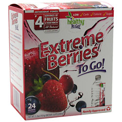 Healthy To Go! Extreme Berries To Go!