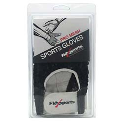 Flexsports International Pro Mesh Sports Gloves Black