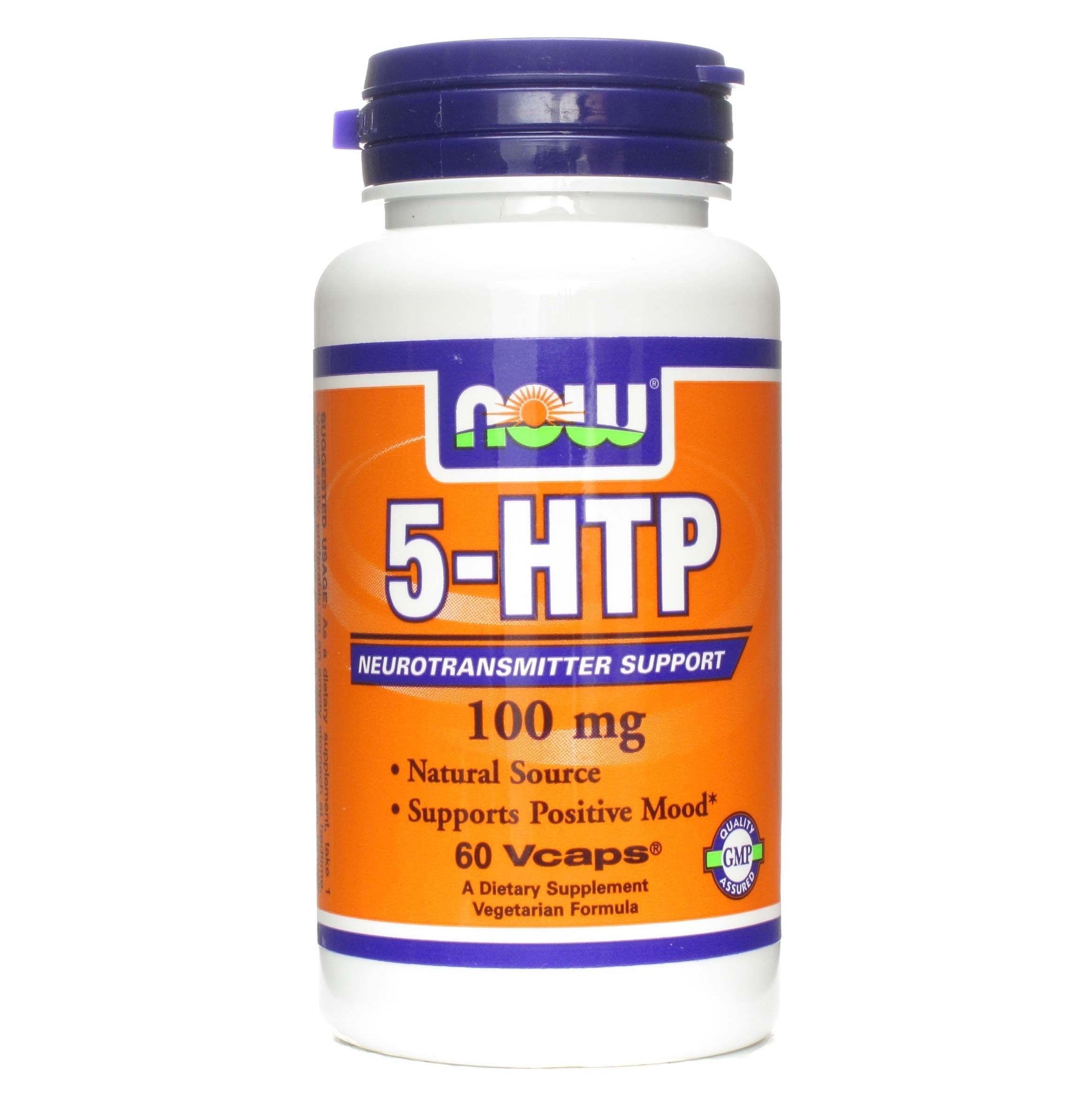 NOW 5-HTP 100mg Capsules