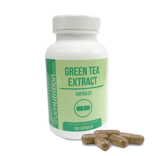 Green Tea Extract 500mg Capsules